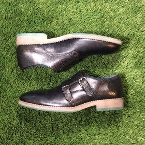 Robert Wayne Thane Monk Strap Loafer Sz 9